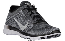 NEW Women's Nike Free TR 5 Flyknit Shoes Size: 11 Color: Black/Gray