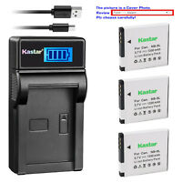 Kastar USB Charger Battery for Canon NB-8L CB-2LA Canon PowerShot A2200 Camera