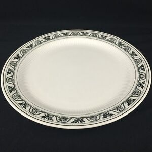 "VTG Round Serving Platter 12 1/2"" by Claridge Tradition Ironstone Hamilton Japan"