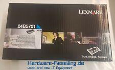 Original LEXMARK TONER CARTRIDGE CYAN  24B5701 für XS748 Neu