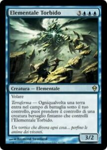 Roil Elemental ITALIAN - ZEN Zendikar - MTG Magic NM