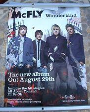McFLY Wonderland 2005 promo poster 30 x 20  original