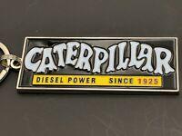 Vintage style Caterpillar Diesel since 1925 emblem keychain (K1)