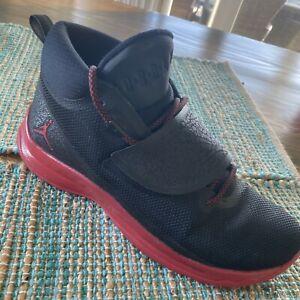 NIKE Air Jordan Super.Fly 5 PO Mens Sz 13 Gym Red Black  [881571-001]