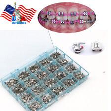 Roth Bracket Orthodontic Dental Braces MBT 022 345 Mark Metal Mini Bondable 1000