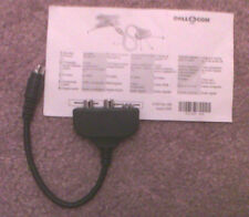 Genuine Dell Laptop S-Video to TV Out Composite Adapter Cable & SPDIF Adapter