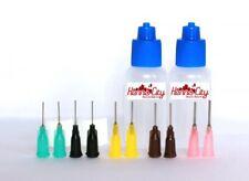 Henna City oz Henna Applicator and Jagua Applicator bottles Qty 2, 10 tips
