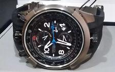 Orient Flytech Pilot TITANIUM MBTPC003 P2PX Model BULLHEAD Chronograph W.R 100m