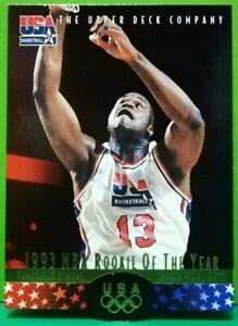 Shaquille O'Neal card 1996 Upper Deck USA Basketball #17