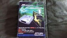Jetway Magic TV-PVR DVD BURNER USB 2.0 in scatola completa rara ottime condizioni