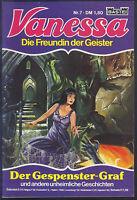 Vanessa Die Freundin der Geister Nr.7 von 1982 - TOP Z1 BASTEI COMICHEFT