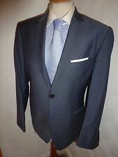 MENS TED BAKER ENDURANCE BLUE SUMMER PROM WOOL SUIT JACKET 40 S WAIST 34 LEG 29