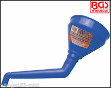 BGS - Oil Funnel, Double Bend For Hard To Reach Places - Pro Range - 8695
