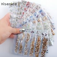 Partition-size 1200pcs Nail Art Rhinestones Crystals Strass For Nails Decoration