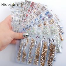 Partition-size 1680pc Nail Art Glitter Rhinestones Crystals Strass Nail Decor