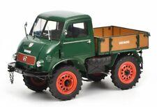 Schuco Unimog 401 grün Froschauge 1:18 Sammlermodell NEU