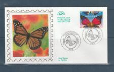 enveloppe  1er jour   nature papillon  75  Paris   2000