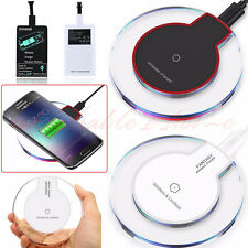 Qi Wireless Charger Charging Pad Receiver For iPhone X 8 Plus Samsung S8 Note 8