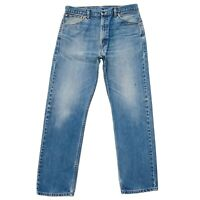 Levi's 521 02 Bleu Standard Jeans Coupe Droite Taille W36 L32