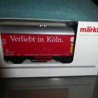 Märklin 44204 H0 Bierwagen Verliebt in Köln, Cölner Hofbräu Früh DB Epoche 4/6