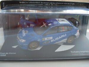 SUBARU IMPREZA WRC - MINT - 1/43 - ALTAYA - FACTORY SEALED - TOUR DE CORSE -2008