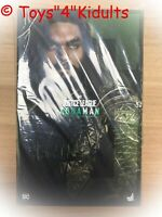 Hot Toys MMS 447 Justice League Aquaman Jason Momoa 12 inch Action Figure NEW