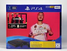 Sony PlayStation 4 500 Go Jet Black: EA SPORTS FIFA 20-Bundle NOUVEAU neuf dans sa boîte