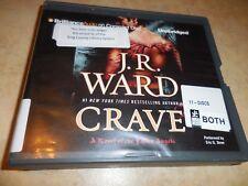 CRAVE J. R. Ward 11 CD UNABRIDGED AUDIOBOOK FALLEN ANGELS PARANORMAL ROMANCE