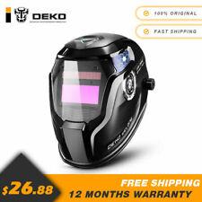 DEKO Auto Darkening Hood with Adjustable 4/9-13 for Mig Tig Arc Welding helmet