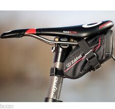Zefal Z Light Waterproof Seat Pack - X Small And Small Bicycle Saddle Rail Mount