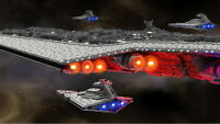 71,000-piece, 13-foot-long LEGO Star Wars Super Star Destroyer (LDD/LDRAW File)