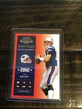 New listing 2002 Tom Brady Playoff Contenders Patriots PATS BUCS Goat Mint