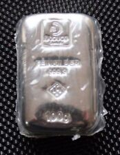 Germany 100gr .999 Fine Silver Bullion DODUCO - sealed and numbered - UNC