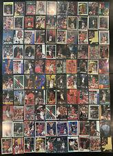 (100) HUGE PREMIUM MICHAEL JORDAN 90'S CARD LOT *INSERTS, PARALLELS & MORE* LOOK