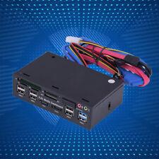 5.25'' Media Dashboard FrontPanel USB3.0 / 2.0 Hub eSATA SATA Audio Kartenleser