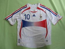 Maillot Equipe de France Mondial 2006 Zidane Vintage Adidas #10 Enfant - 10 ans