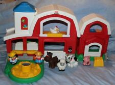 Fisher Price Little People Animal Sounds Farm Animals & Farmer Play set Figures