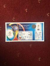 Genuine 2002 World Cup FULL Match No. 17 Ticket Germany v Ireland 5/6/2002