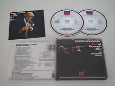 BENNY GOODMAN/40TH ANNIVERSARY CONCERT(LONDON 820 349-2) 2XCD ALBUM
