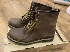 Dr Martens Brown Lace Up Boots Brand New Boxes Uk Size 14