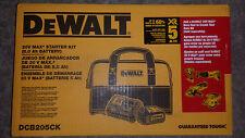 DeWalt dcb205 20-Volt MAX 5.0Ah Battery & dcb115 Charger + Bag DCB205CK 20v new