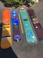 Local Pick Up Only. Lot 4 Snowboards Burton Custom 156 Snowboard