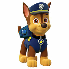 "Paw Patrol Chase Iron On Transfer 4""x7.5"" for LIGHT Colored Fabric"