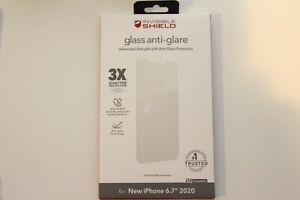 Zagg Invisible Shield Glass Anti-Glare Screen Protector iPhone 12 Pro Max