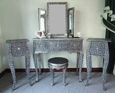 French Country Unbranded 4 Drawers and Over Dressing Tables