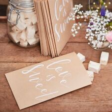 Love is Sweet Candy Bar Treat Bags, Rustic Country Wedding - pack of 20