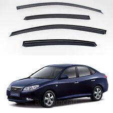 New Smoke Window Vent Visors Rain Guards for Hyundai Elantra 2006 - 2009