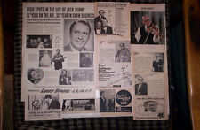 Jack Benny Magazine, TV Guide Ads