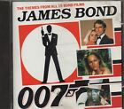 JAMES BOND 007 CD SAME 1988 FUORI CATALOGO Made in FRANCE The themes from all is