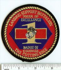 USMC 1st Landing Support Battalion RED-PATCHERS Marines 1st LSB The Cutting Edge